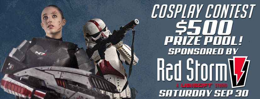 Cosplay Contest  Sponsored by Red Storm Entertainment